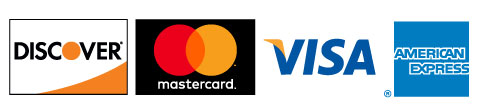 We accept Discover Card, MasterCard, Visa, American Express and EBT SNAP Cards.